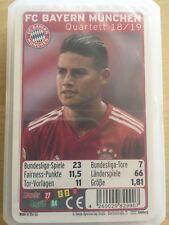 Quartett Team 2018/2019 FC Bayern München 23610