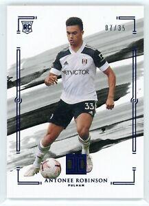2020-21 Panini Impeccable Rookie #33 Antonee Robinson #07/35 Fulham
