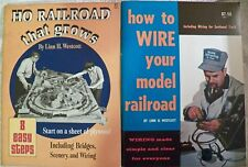 Ho Railroads That Grow / Wire Your Model Railroad Lot 2 Vintage Books