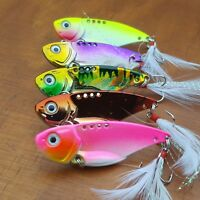 5 x Vibes Flathead Trout Bass Fishing Lures Redfin Yellowbelly Perch Cod Blades