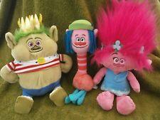 Dreamworks Trolls Bundle King Gristle, poppy 2016 and Cooper 2015 Hasbro