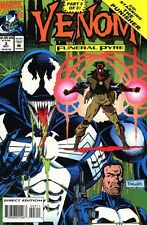 VENOM FUNERAL PYRE #3 VERY FINE/NEAR MINT 1993 MARVEL COMICS PUNISHER