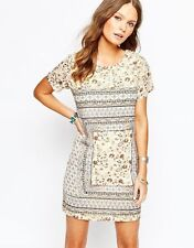 New Look Short Sleeve Tunic Floral Dresses for Women