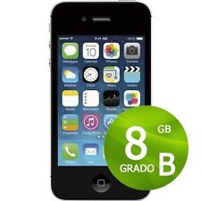 APPLE IPHONE 4S 8GB NEGRO+ACCESORIOS + GARANTÍA 12 MESES REACONDICIONADOS 4 S