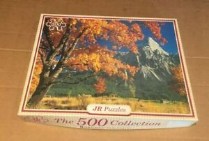 JR PUZZLES 500 COLLECTION Tirol West Germany Vintage Jigsaw 500pc COMPLETE