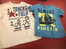 Boys The Childrens Place Big Brother Captain Carter's Pirate Shirt Lot Size 5/6