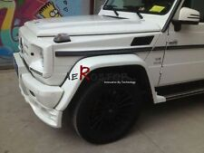 FRP KOMPRESSOR HAM STYLE FRONT & REAR WHEEL FENDER FLARE FOR W463 G55 AMG