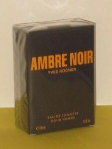 AMBRE NOIR YVES ROCHER EAU DE TOILETTE SPRAY 1.6 oz./ 50 ml. NEW-BOX SEALED!