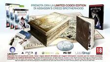ASSASSIN'S CREED BROTHERHOOD CODEX EDITION PS3 NEW SEALED RARE