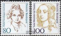BRD (BR.Deutschland) 1755-1756 (kompl.Ausgabe) postfrisch 1994 Frauen der deutsc