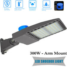 Led Parking Lot Light 300w Outdoor Flood Light Fixture Dusk To Dawn Street Light