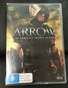 Arrow : Season 4 (2015 : 5 Disc DVD Set) Very Good Condition Region 4
