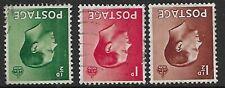 Sg457Wi - Sg459Wi Edward 8th Set Wmk Inverted fine used