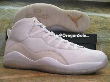 more photos 98683 4b394 Nike Air Jordan 10 X Retro OVO Promo Sample SZ 12.5 White Gold Drake PE HOF