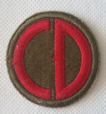 Patch US 85th infantry division - Napoli Anzio Roma Bologna WW2 100% ORIGINALE