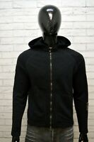 Felpa Uomo CALVIN KLEIN Taglia S Maglione Nero Sweater Man Cardigan Cotone