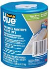 Painters Tape Plastic Drop Cloth 24 in. Edge-Lock And Dispenser Drip Protector