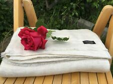 Pure 100% Cashmere Blankets  Nepalese Handmade purple with soft white throw