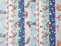 Grey 1 20 Jelly Roll Strips 100/% Cotton Patchwork Fabric x 22 inch long