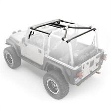 Smittybilt 76900 SRC Cage Kit 7 Piece Gloss Black For 1997-2006 Jeep TJ