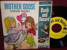 """Mother Goose Nursery Rhymes"" 45 and Book"