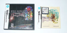 JEU NINTENDO DS FINAL FANTASY CRYSTAL CHRONICLES RING OF FATE VERSION US COMPLET