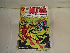 NOVA n° 96 de 1986 - SPIDER MAN - LES FANTASTIQUES - IRON MAN - comme neuf.
