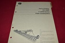 John Deere F 100H Series Field Conditioners Dealer's Parts Book Manual PANC