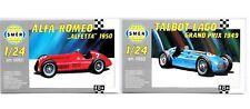 SMER Talbot Lago Grand Prix 1949 + Alfa Romeo Alfetta 1950, F1 Racer, Kits 1:24