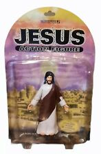 Jesus Action Figure 2001 Rare Accoutrements with Poseable Arms & Gliding Action!
