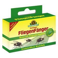 NEUDORFF-Permanent Fliegen Fänger 4 Stück Stubenfliegen Fleischfliegen Giftfrei