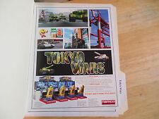 TOKYO WARS NAMCO    GAME  FLYER