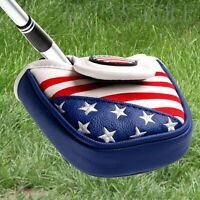 USA Golf Star Putter Cover Magnetic Mallet Head Cover for Scotty Cameron Odyssey