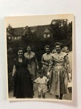 Vintage Real Photograph - #Z - Group Ladies With Young Child