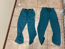 Grey's Anatomy by Barco Scrub pants bottoms green small S good cond lot of 2