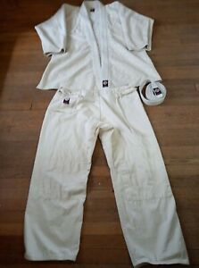Gi 3 Piece Ronin Brand 100% Cotton Top Bottom + Belt Size 6