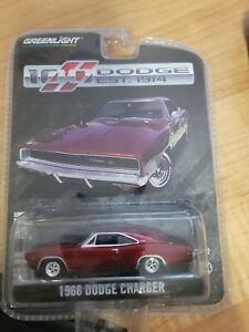 GREENLIGHT 1968 DODGE CHARGER 100th Dodge Anniversary EST. 1914 red