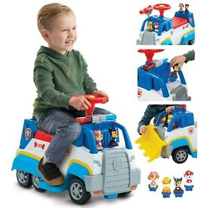 Nick Jr. PAW Patrol 6 Volt Ride-On Toy Playset, Skye, Chase, Marshall and Rubble
