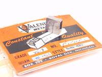 NEW SURPLUS 3PCS. VALENITE  SNG 432  GRADE: VC7  CARBIDE INSERTS