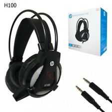 HP H100 gaming headset with mic (Black) connector size - 3.5 mm audio headset