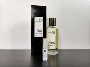Mancera Cedrat Boise 2 ml Sample Decant Eau De Parfum Fruity Woody Unisex