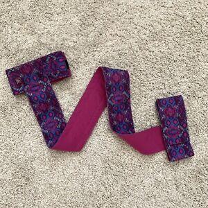 Prana Purple Yoga Mat Strap
