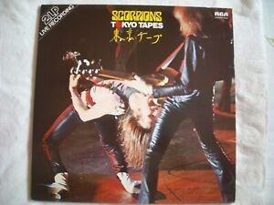SCORPIONS . TOKIO TAPES. 1978. 2 LP. RCA.NL 70008. SPLENDIDE VOIR SCAN