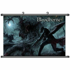 Bloodborne Old Hunters Fabric Painting for Anime Bloodborne Wall Scroll Posters