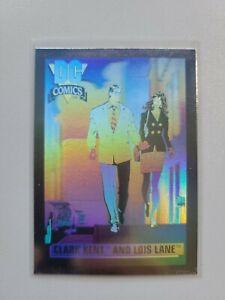 1992 Impel DC Comics CLARK KENT & LOIS LANE Hologram Hall Of Fame #DCH1 🔥🔥
