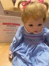 Ashton Drake Hannah Needs A Hug Porcelain Doll 76841 Vintage 1993