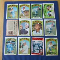 MONTREAL EXPOS 1972 COLLECTION (50 items different) OPC TOPPS & Signed AUTO LOOK