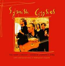 New: THE HARP CONSORT/Andrew Lawrence-King -Spanish Gypsies CD (Celtic/Spanish/B