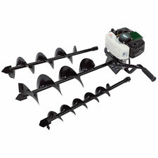 Draper Petrol Earth Auger Kit Fence Post Hole Borer Hedge Laying Power Tool 52cc