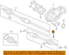JAGUAR OEM 09-15 XF Rear Suspension-Differential Assembly Plug C2D3648